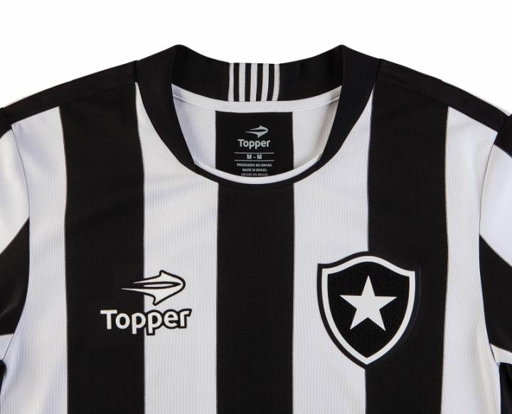 Topper apresenta nova camisa do Botafogo 8adb7bc091809