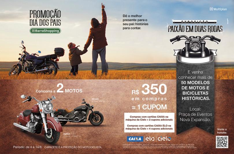02cbc5ef91a BarraShopping realiza promoção e exposição de motos em homenagem ao Dia dos  Pais