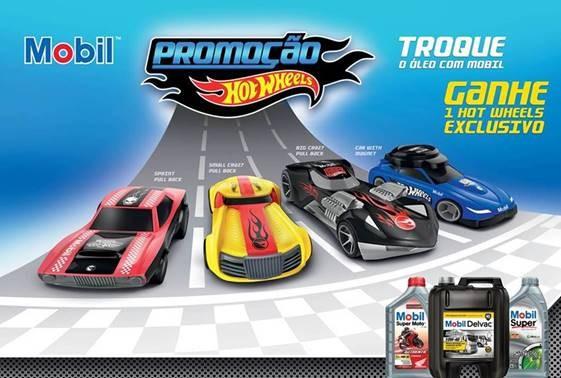 The Marketing Store Brasil e Cosan realizam promoção da Mobil e Hot Wheels.