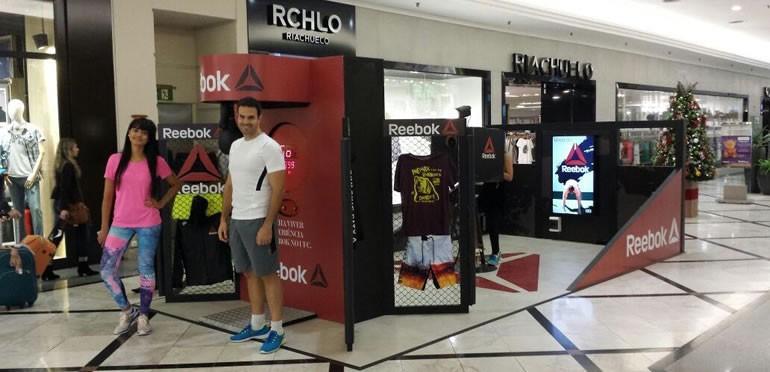 Reebok inaugura sua primeira loja conceito no Brasil e mobiliza diversos  fãs do mundo esportivo 8e38f65cf14