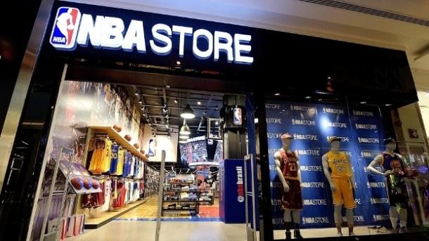 04f956f13 NBA inaugura 1ª loja da franquia em São Paulo