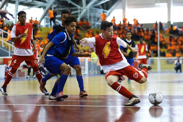 cd19828b5 A Liga Nescau é uma das primeiras competições a unir esporte e paradesporto  em um único evento.
