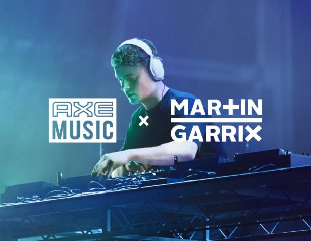 AXE firma parceria com Martin Garrix e lança AXE Music