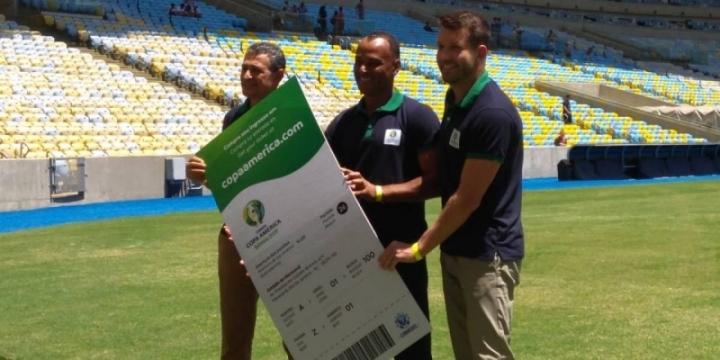 8cfdf7ae78 Copa América abre venda de ingressos