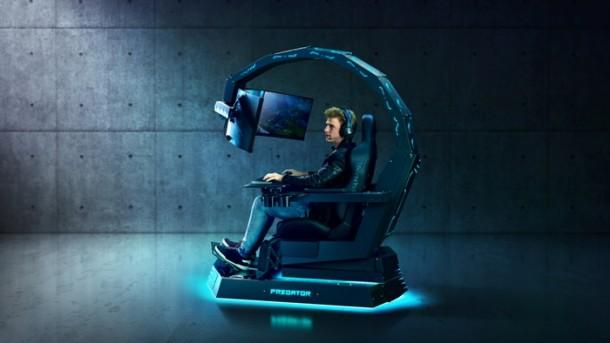 acer cadeira game