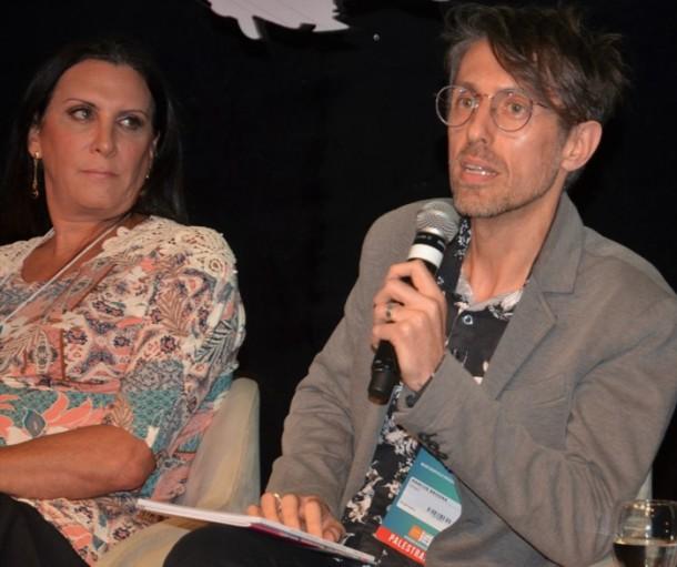 Márcia Rocha e Marcos Brogna.