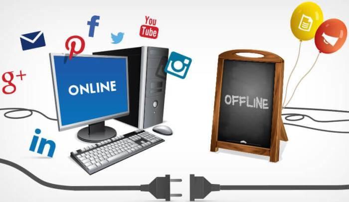 mídia offline