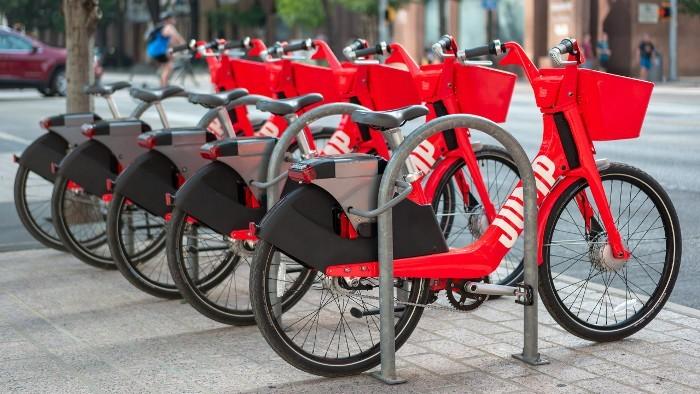 uber bikes elétricas