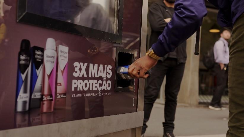 rexona ação live av. paulista