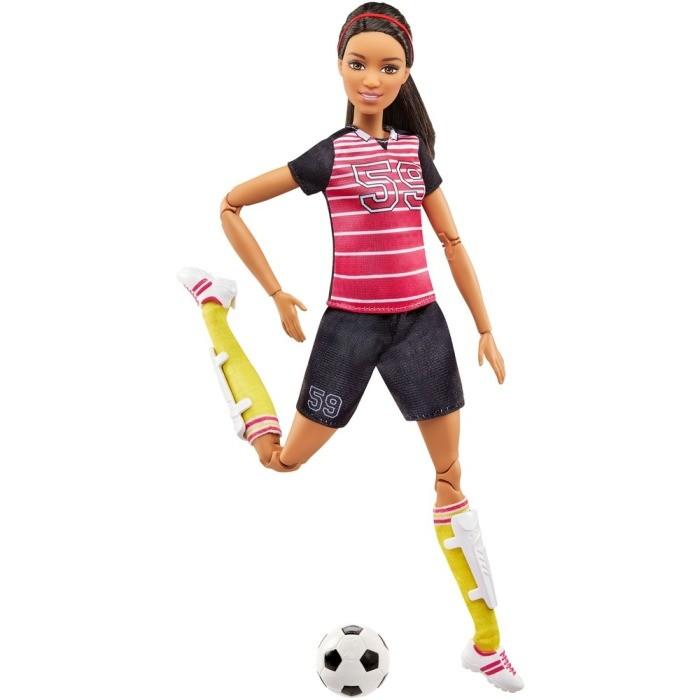 barbie futebol