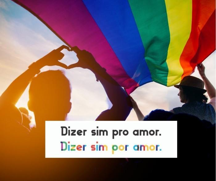 casamento orgulho lgbtq+