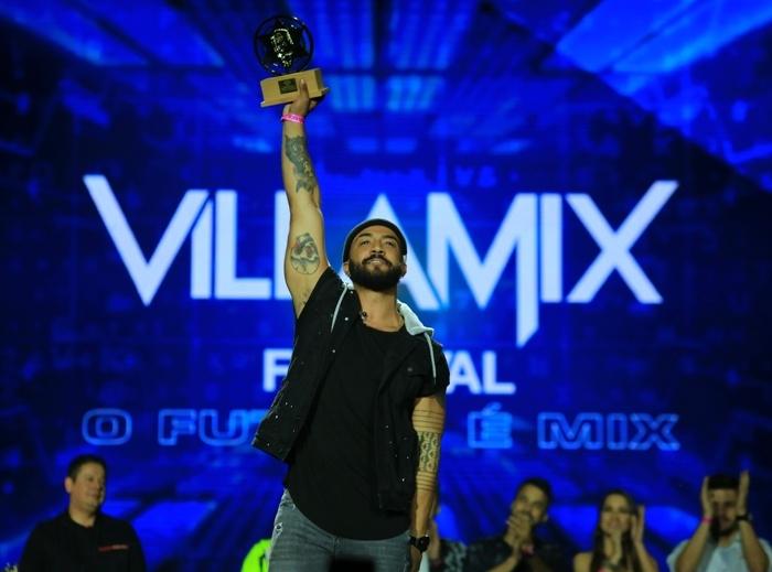Saulo de Tarso no Festival Villa Mix (Foto: Reprodução)