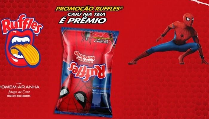 promoção ruffles homem aranha