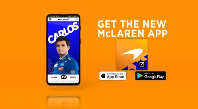 McLaren cria aplicativo com bastidores da F1
