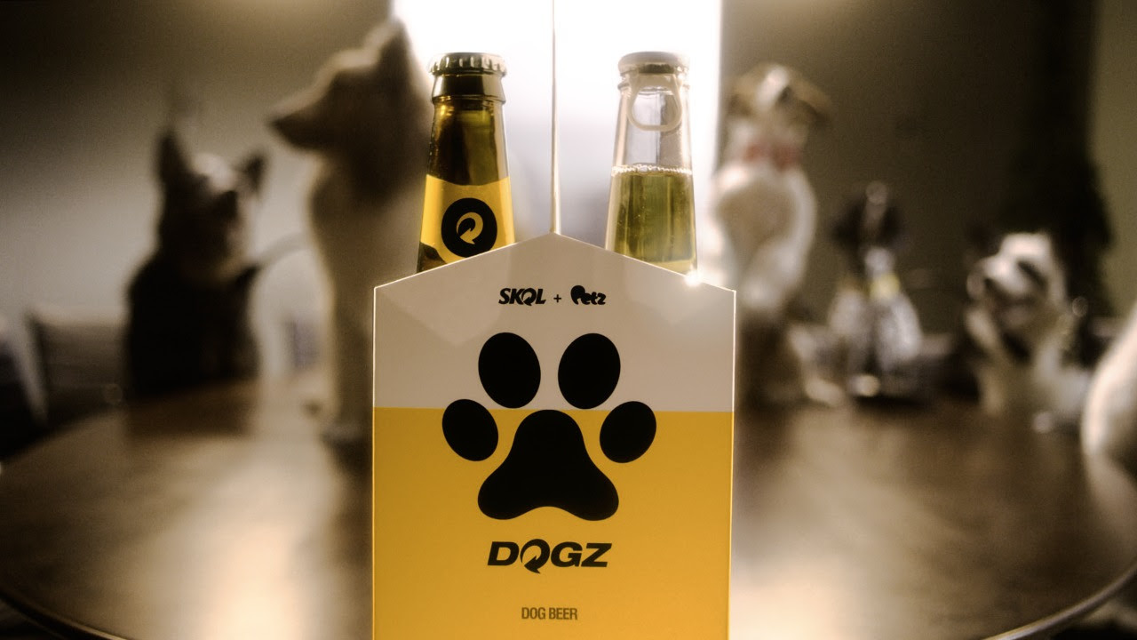 skol cerveja para cão