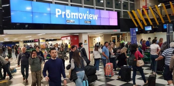 app promoiew aeroporto