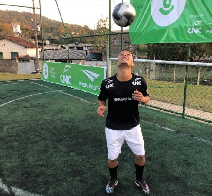 penalty futebol social