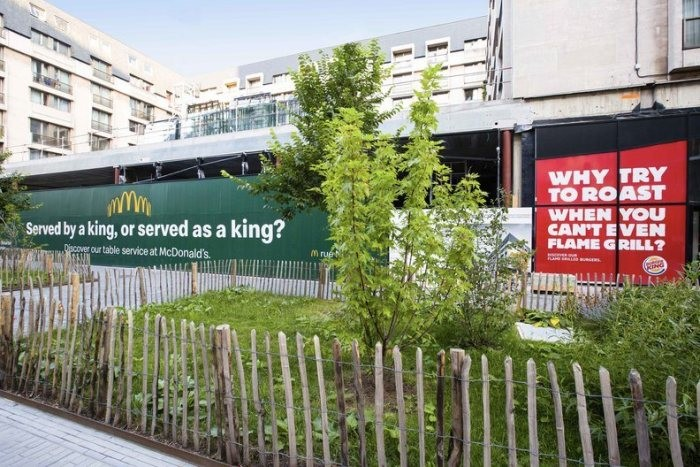 mcdonalds x burger king