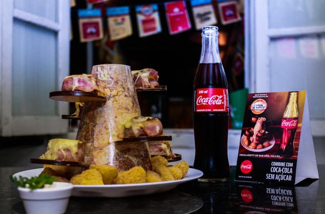 comida di buteco coca-cola