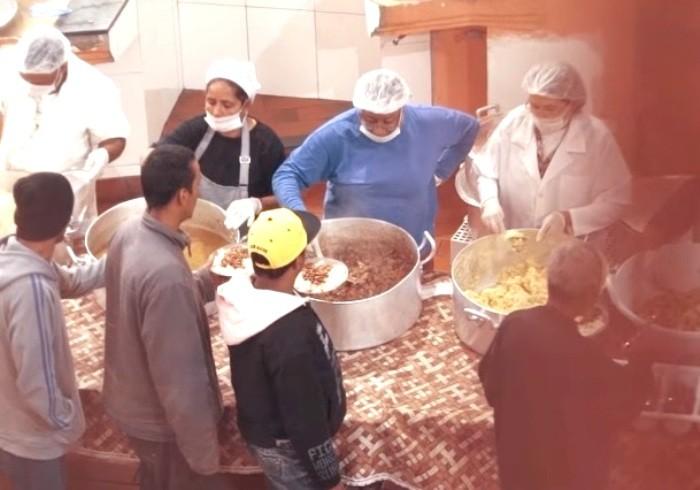sazón distribuição de alimentos