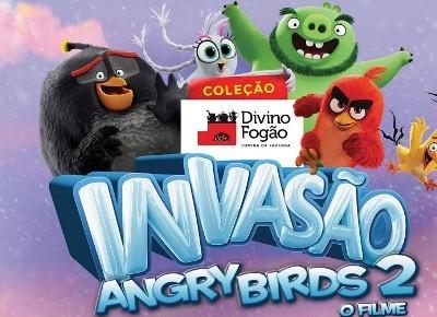 divino fogão angry birds
