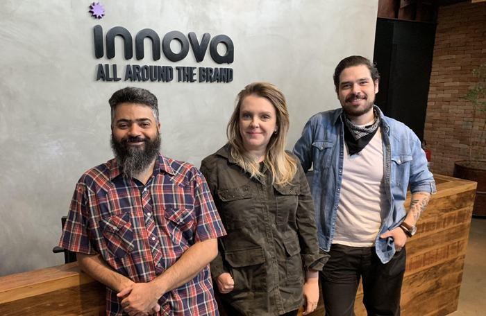 João Vereza, Ludmila Sanches e Rodolfo Cartolano