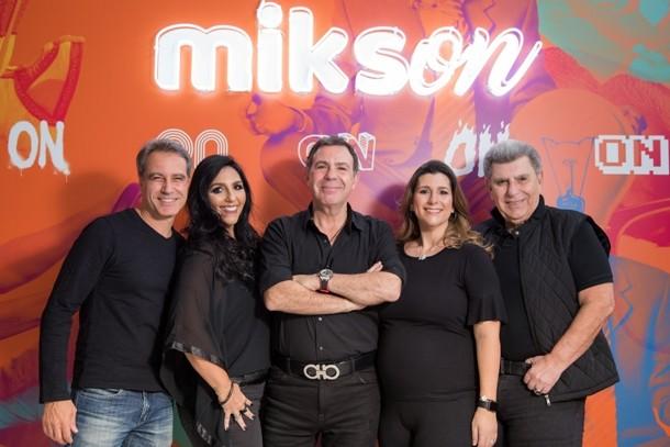 Dirceu Vieira, Danny Ortali, Carlos Augusto Ortali, Michelle Ortali e José Francisco Ortali