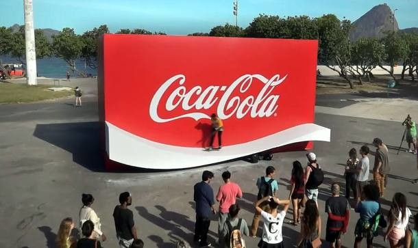 coca-cola rampa skate