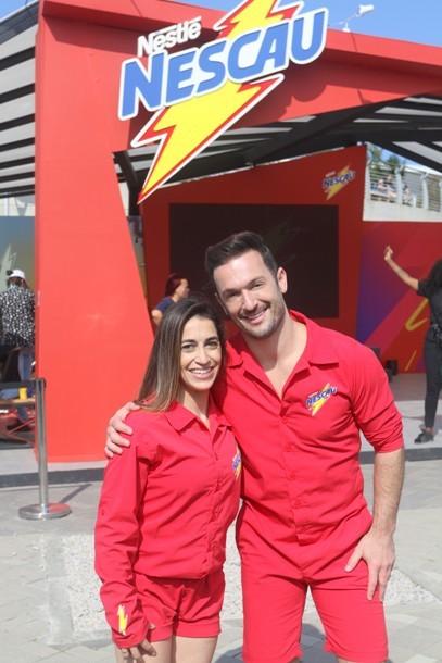 Daniele e Diego Hypólito (Reginal Teixeira /