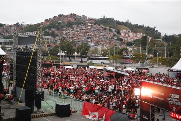 evento flamengo