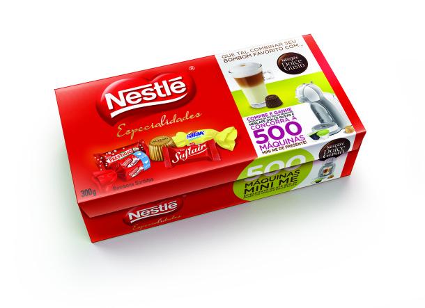 nestle lan a promo o de chocolates com nescaf dolce gusto. Black Bedroom Furniture Sets. Home Design Ideas