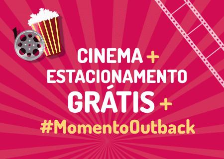 a01d39cc8c478 Shopping Metropolitano Barra realiza promoção com Cinemark e Outback  Steakhouse