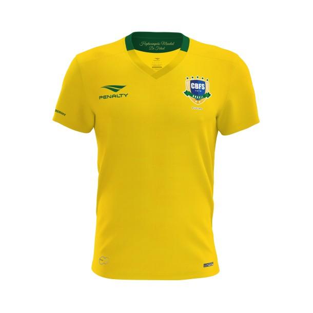32de533afcd3f Penalty apresenta uniforme 2017 da Seleção Brasileira de Futsal
