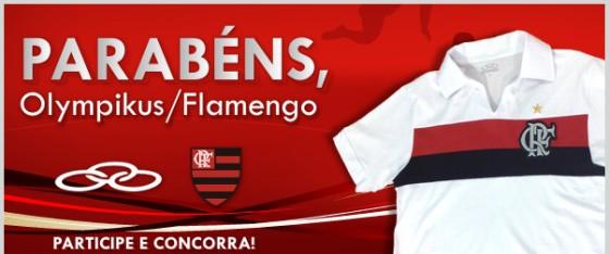 Olympikus e Flamengo parceiros em promoção b97a9799f9802