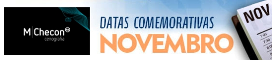 Datas comemorativas de Novembro