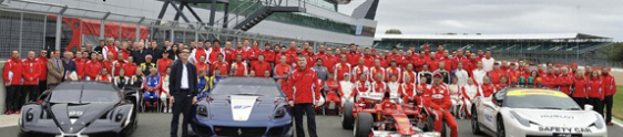 Interlagos foi palco do inédito Ferrari Racing Days
