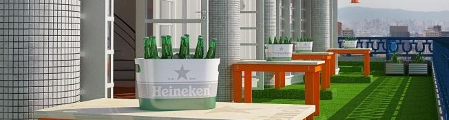 Heineken Up On The Roof chega à noite de São Paulo