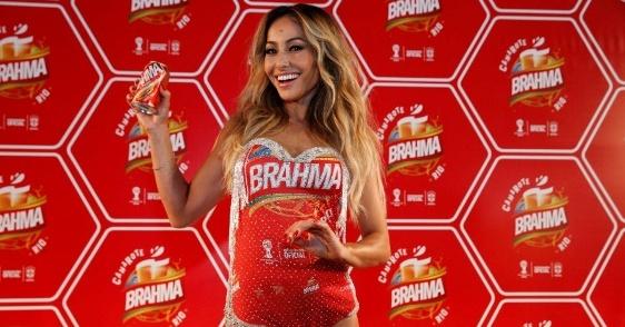 Sabrina Sato foi a embaixadora da Brahma no Carnaval 2014 (Foto: Divulgação/Brahma).