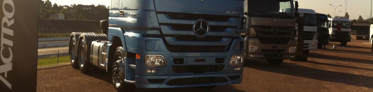 Netza ativa linha de extrapesados da Mercedes-Benz