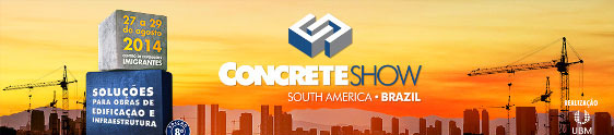 Concrete Show quer agitar o mercado da construção