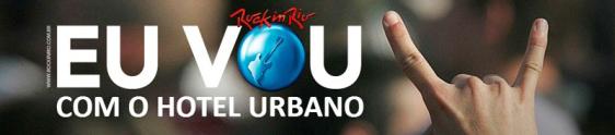 Hotel Urbano e Rock in Rio fecham parceria