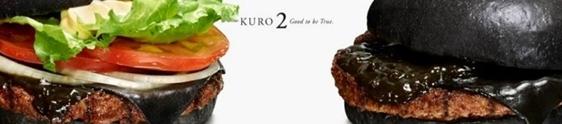 Sanduíche preto é a novidade do Burger King Japão