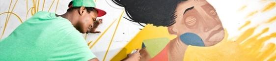 Projeto transforma casas em galerias de arte