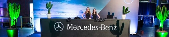 Netza promove evento do novo GLA da Mercedes-Benz