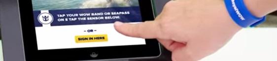 Quantum of the Seas inova em serviços de bordo inteligentes