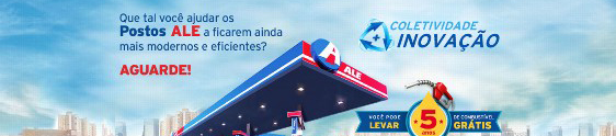 Ideias rendem gasolina na ação promo da ALE