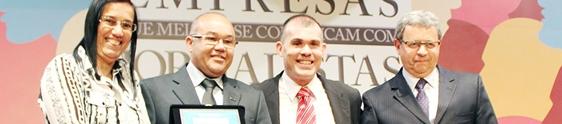 Correios se destaca em prêmio da Negócios da Comunicação
