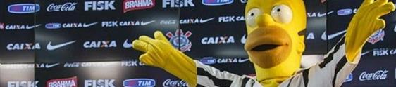 FOX e Corinthians lançam licenciados com os Simpsons