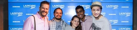 Samsung incentiva o talento das pessoas com nova loja