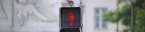 "Marca cria ""semáforo bailarino"" para diminuir a chatice"